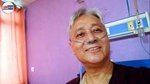 अस्पतालमा उपचाररत क्याप्टेन लामाको सन्देशः 'कोरोनालाई हल्का रुपमा नलिऔँ' (भिडियो)