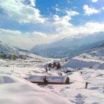 मनाङ मा हिमपात