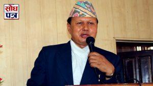 नेपाली काँग्रेस एक्लै निर्वाचनमा जान तयार छः पूर्व मन्त्री बस्नेत