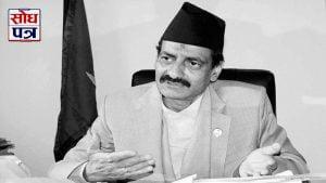 Nepali Congress leader Nabindra Raj Joshi no more !